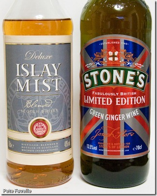 Stones Ginger Wine and Islay Mist