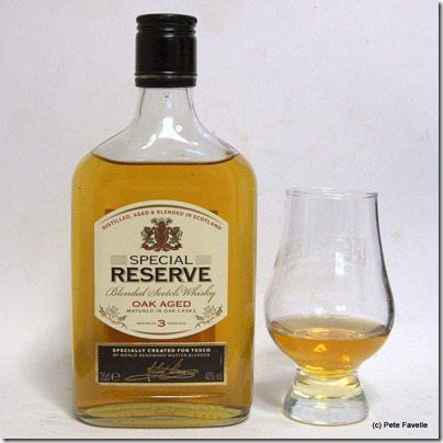 Tesco Special Reserve Scotch Whisky