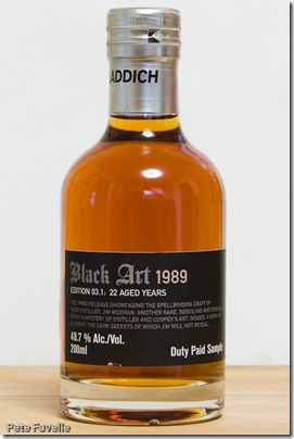 Bruichladdich Black Art 1989