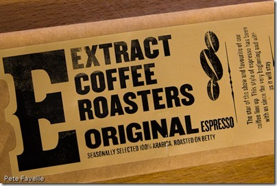 Extract Coffee Roasters Original Espresso