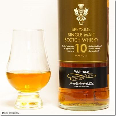 Waitrose Speyside 10 Year Old