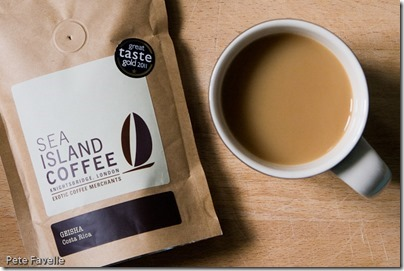 Sea Island Coffee Geisha Costa Rica